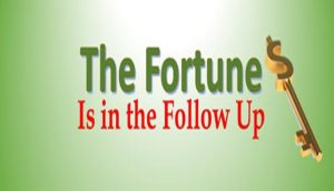 HOW TO FOLLOW UP WITH NETWORK MARKETING PROSPECTS