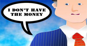 HOW TO RESPOND TO YOUR NETWORK MARKETING PROSPECT WHO HAS NO MONEY.