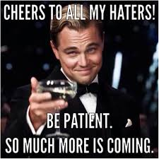 HOW TO HANDLE NETWORK MARKETING HATERS.